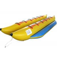 China Water Sports Inflatable Water Toys Two Flying Float Banana 450 * 204 Cm Customized on sale