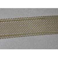 China 16 Mesh Copper Wrapped Edge Drug Stainless Steel Screen Wire Mesh 40mm Width on sale