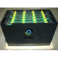 Electric Fork Truck Battery For Forklift , Pallet Jack Battery 198mm Cell Width