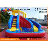 China Commercial Grade Backyard Inflatable Water Slide Bounce House For Children on sale
