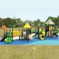 Buy cheap Outdoor Playground Equipment with CE/TUV/GS/ISO/SGS/EN1176 Marks and One Year from wholesalers