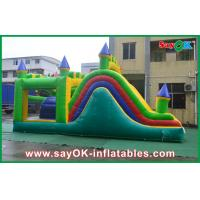 Wholesale PVC Tarpaulin Outdoor Commercial Bounce House Festivals Use CE from china suppliers
