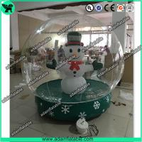 Transparent Inflatable Show Ball,Inflatable Snow Ball,Christmas Decoration Inflatable