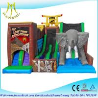 Quality Hansel fantastic aniamal theme inflatable slide price outdoor lawn for sale