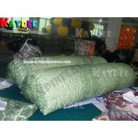Wholesale Inflatable paintball Bunker giant tree log,digital printing Deluxe Tactical Field, KPB032 from china suppliers