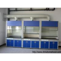 Quality Chemstry Fume Hood Laboratory Equipment Ventilation Cabinet With Switches / Power Sockets for sale