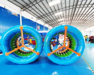 Wholesale Commercial Blow Up Walking Rollers Inflatable Water Roller Wheel from china suppliers