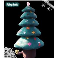 Wholesale 3m Height Indoor&Outdoor Christmas Tree Decorative Christmas Inflatable Tree from china suppliers