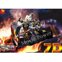 Wholesale Outdoor Movable 12 Seat 7D 6D Cinema Equipment With Electric Hydraulic System from china suppliers