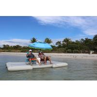 China Summer Water Toys Inflatable Dock Float Platform For Island Or Lake on sale
