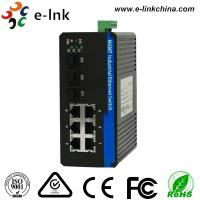 Wholesale 6 Port Managed Industrial Ethernet Media Converter with 3 1000Base-X SFP ports and 6 10 / 100Base-T(X) ports from china suppliers