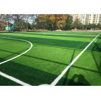 Wholesale Strong Laying Artificial Grass , Fake Grass Carpet For High Standard Football Field from china suppliers