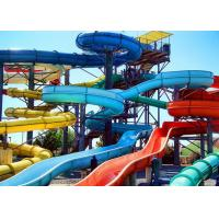 Wholesale Holiday Resort Water Slide Amusement Park Fiberglass Swimming Pool Classic Slide from china suppliers