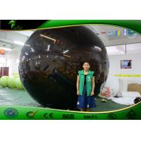 China Customized Giant Inflatable Water Toys Black Water Walking Balloon PVC Material on sale