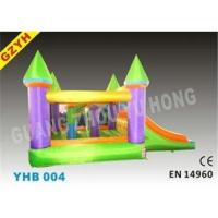 Quality Outdoor Inflatable Jumpers Bouncers Slides YHB-004 with CE for sale