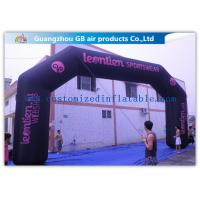 Wholesale Durable Black Inflatable Arch , 26 Feet Inflatable Entrance Arch For Advertising from china suppliers