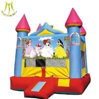 Wholesale Hansel kids amusement equipment  hot fun house giant inflatable princess house from china suppliers