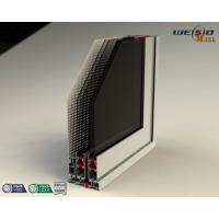 Wholesale Color Coated Aluminum Extrusion Profiles , Customized Door Frame Profiles from china suppliers