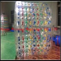 Wholesale Best Selling 2.2M Inflatable Water Roller summer hot inflatable water roller zorb ball with custom color from china suppliers