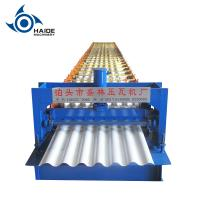 Wholesale Water Wave Automatic Roll Forming Machine 850 / Steel Sheet Cold Roll Forming Machine from china suppliers