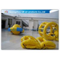 Wholesale Yellow Inflatable Water Games Sports Inflatable Floating Tarpaulin On Water Park from china suppliers