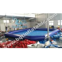 Wholesale Inflatable square swimming pool,inflatable pool,water park,aqua zone from china suppliers