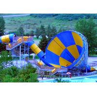 Wholesale Holiday Villa Funny Great Wolf Lodge Tornado Slide Video / Centre Parcs Slides from china suppliers