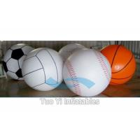 Wholesale Attractive 0.18 mm PVC Inflatable Sports Themed Balloons Logo Printed from china suppliers