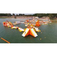 Wholesale France Inflatable Aqua Park Games With TUV Certification For Lake from china suppliers