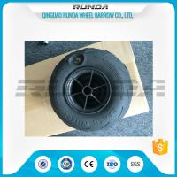 Wholesale No Axle Pneumatic Wheelbarrow WheelsPuncture Resistant PVC 230mm*115mm from china suppliers