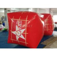 Wholesale Square Inflatable Marker Buoy , Floating Marker Buoys Apply To Ocean from china suppliers