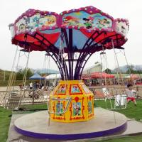Buy cheap Flying Chair Ride Kids Amusement Ride Load 8 Riders With Mickey Decoration from wholesalers