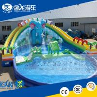 Wholesale Outdoor playground equipment water park slides for sale from china suppliers