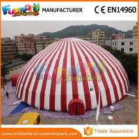Wholesale Outdoor Inflatable Lawn Tent Customized Inflatable Igloo Tent PVC Coated Nylon from china suppliers