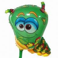 Wholesale Caterpillar Worm Balloon Toy, Cartoon Style, Measuring 41 x 62cm from china suppliers