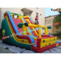 Wholesale PVC Tarpaulin Giant Dry Commercial Inflatable Slide Combo Games With Customized from china suppliers
