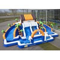 Wholesale Commerial Outdoor Inflatable Water Slides Waterproof For school from china suppliers