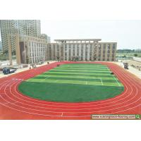 Spray Coating Permeable Running Track , Hebei School Sports Rubber Flooring