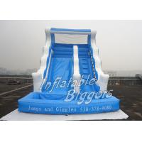 Wholesale House Inflatable Water Slides For Party Rentals / Inflatable Fun For Kids from china suppliers