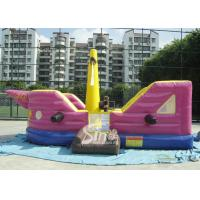 Wholesale 7x4 meters children pirate ship inflatable bouncer with EN14960 certified made of lead free material from china suppliers