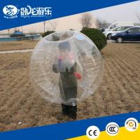 Quality human inflatable bumper bubble ball, football inflatable body zorb ball for sale