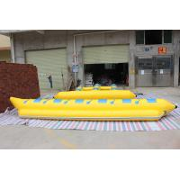 Wholesale Garden Red Orange Yellow Banana Boat Raft Suitable For Adults from china suppliers