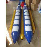 Wholesale Double Lane  PVC Tarpaulin Inflatable Banana Boat For Water Sports from china suppliers
