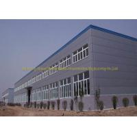 Quality Multi Storey Steel Structure Workshop Buildings Sandwich Panel Materials for sale