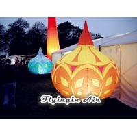 Wholesale Big Rain Shape Printing Inflatable Light Cone with Light for Shop and Event Decoration from china suppliers