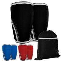 Wholesale Multiple Colors Compression Knee Brace For Squat Weightlifting Knee Sleeves from china suppliers