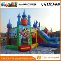 Wholesale Lovely Mickey Mouse Inflatable Bouncer Slide For Park CE Certifications from china suppliers