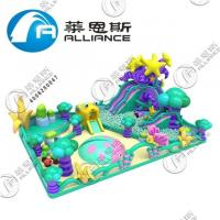 Buy cheap Computer Printing Inflatable Sports Games Fire Retardant Easy Installation from wholesalers