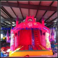 Quality inflatable kids playground plastic slides,Silk-screen printing Inflatable Slide, kids inflatable toys for sale