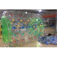 Adults And Kids Inflatable Bubble Soccer Balls / PVC Water Walking Roller Balls